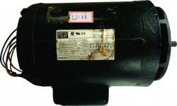 Motor Eletrico Weg 1,25cv (127v/220v) Flage, Usado, Cod W11