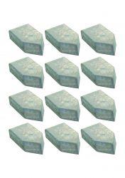 Pastilha Widea Solda Metal Duro E 12 - 12x20x6 10 Unidade