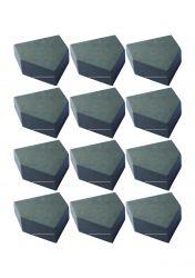 Pastilha Widea Solda Metal Duro F 16 - T124 Ba70 16 Unidade