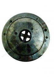 Placa para torno 200 mm 4 castanha USADO Indisponível