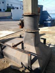 Coifa Industrial Com Exaustor - Reforçada