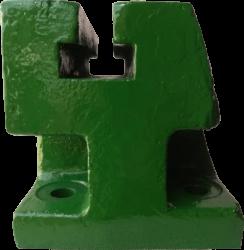 Suporte Traseiro Para Torno cor verde