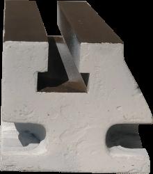 Suporte Traseiro Para Torno (branco)