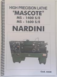 Cod0008 Manual Do Torno Nardini Mascote Ms - 1400s/e -1600s/e