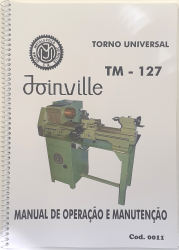 Cod0011 Manual De Instrução Do Torno Joinville Tm-127