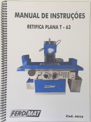 Cod0012 Manual De Instruções Para Retifica Plana Ferdimat T-63