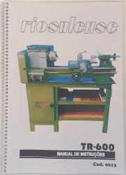 Cod0013 Manual De Instruções Riosulense Tr-600
