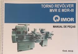 Cod0015 Manual De Peças Do Torno Revolver Mvr E Mdr I I I