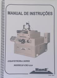 Cod0021 Manual De Instruções Chaveteira Kone  CKI-250