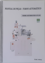 Cod0024 Manual de peças torno Automatico Atlas