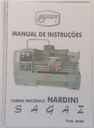 Cod0028 Manual De Instruções Torno Mecanico Nardini Sagaz